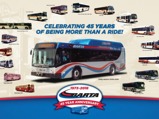 BARTA Anniversary Logo and Poster
