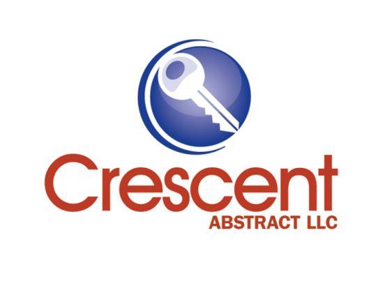 Crescent Abstract Logo Design