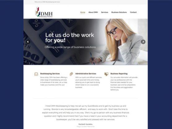 DMH Bookkeeping Website