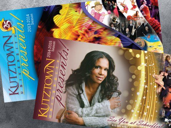 Kutztown Presents! Season Brochures