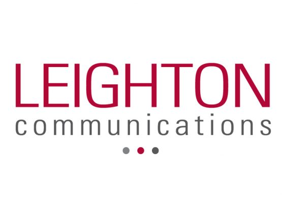 Leighton Communications Logo Design
